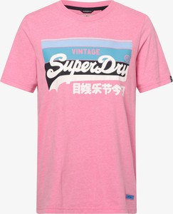 Bluzka Superdry z bawełny