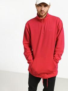 Czerwona bluza Vans z bawełny
