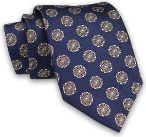 Granatowy krawat Chattier