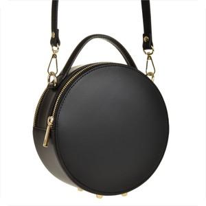 Czarna torebka Borse in Pelle ze skóry