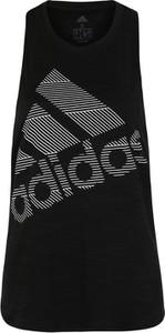 Czarny top Adidas Performance