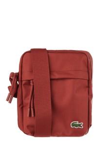 Czerwona torba Lacoste