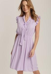 Sukienka Renee z dekoltem w kształcie litery v mini w stylu casual