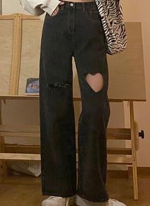 Czarne jeansy Arilook