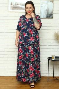 Sukienka KARKO w stylu boho