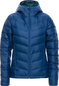 Niebieska kurtka Jack Wolfskin w stylu casual