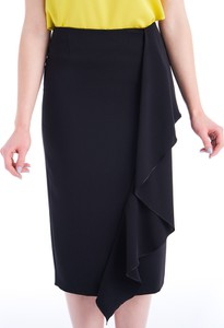 Spódnica POTIS & VERSO w stylu casual z tkaniny midi