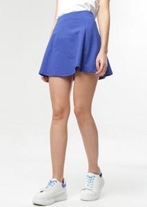 Niebieska spódnica born2be w stylu casual