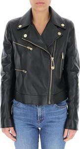 Versace Skórzana kurtka typu biker