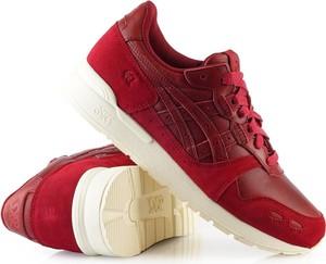 Buty sportowe ASICS ze skóry w sportowym stylu