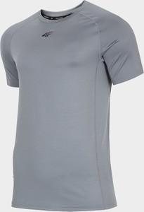 Bluza damska bld230 - chłodny jasny szary - 4f