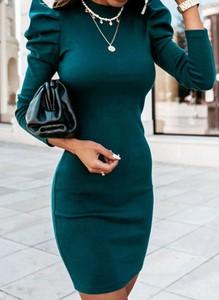 Zielona sukienka Cikelly