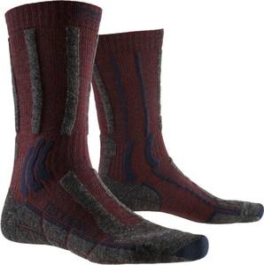 Czerwone skarpetki X Socks dla chłopców