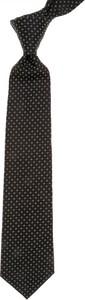 Czarny krawat Dior