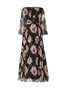 Sukienka MAX&Co. z długim rękawem maxi rozkloszowana