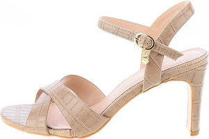 Sandały Prima Moda na obcasie z klamrami