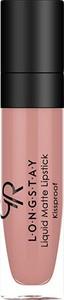 Golden Rose Longstay Liquid Matte Lipstick Matowa Pomadka w Płynie 13 5,5ml