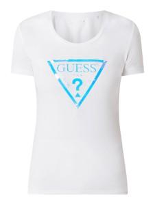 Bluzka Guess w młodzieżowym stylu z bawełny