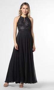Czarna sukienka VM bez rękawów maxi