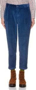Spodnie United Colors Of Benetton ze sztruksu w stylu klasycznym