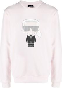 Bluza Karl Lagerfeld z nadrukiem w młodzieżowym stylu