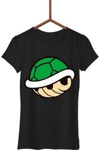 Czarny t-shirt Failfake w młodzieżowym stylu