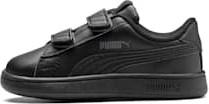Buty sportowe dziecięce Puma na rzepy ze skóry