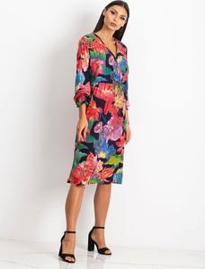 Sukienka Factory Price z długim rękawem midi