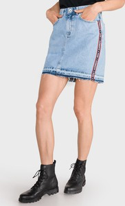 Spódnica Superdry z bawełny mini