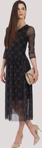 Czarna sukienka Maravilla Boutique z tiulu