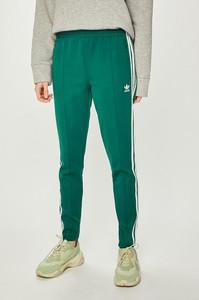 Miętowe spodnie Adidas Originals