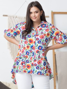 Koszula KARKO z tkaniny