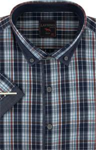 Koszula Laviino z tkaniny w stylu casual