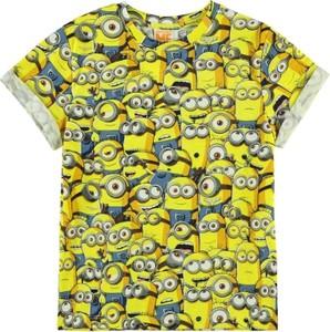 Żółta koszulka dziecięca Character