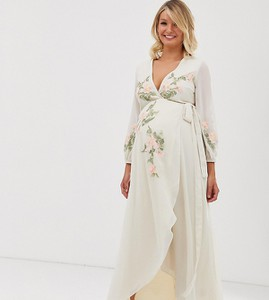 Różowa sukienka Hope & Ivy Maternity