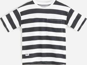 Koszulka dziecięca Reserved z krótkim rękawem dla chłopców w paseczki