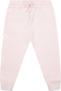 Różowe spodnie dziecięce Pepe Jeans