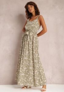 Sukienka Renee na ramiączkach maxi w stylu boho