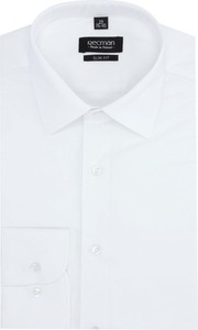 Koszula Recman z klasycznym kołnierzykiem z długim rękawem