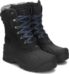 Czarne buty zimowe CMP