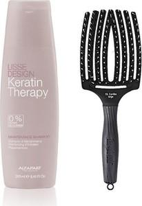 Alfaparf Milano Alfaparf Keratin Therapy Maintenance and Finger Brush | Zestaw do wygładzenia i rozczesywania włosów: szampon 250ml + szczotka rozmiar L - Wysyłka w 24H!