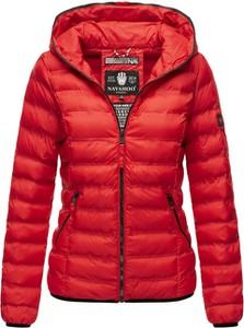 Czerwona kurtka Navahoo krótka w stylu casual