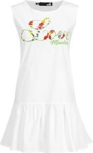 Sukienka Love Moschino mini w stylu casual bez rękawów