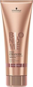 Schwarzkopf Blond Me Bonding Warm Blonde   Nabłyszczający szampon do ciepłych odcieni blondu 250ml - Wysyłka w 24H!