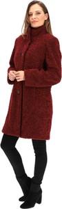 Czerwony płaszcz Milo z tkaniny