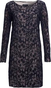Sukienka HEXELINE z długim rękawem prosta