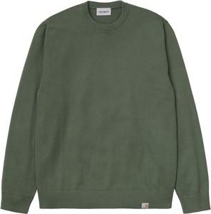 Sweter Carhartt WIP z okrągłym dekoltem z wełny w stylu casual
