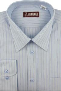 Koszula Konsul z klasycznym kołnierzykiem z tkaniny z długim rękawem