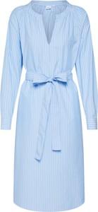 Sukienka Gap z długim rękawem oversize z bawełny