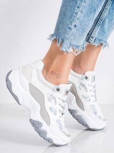 Buty sportowe Czasnabuty na platformie sznurowane